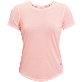 Under Armour Streaker Short Sleeve Shirt Women, roze